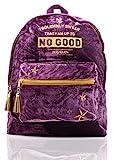 Harry Potter Zaino Scuola Hogwarts Borsa Backpack Velluto Lusso per Lavoro Viaggio Università Palestra| Idee Regalo Per Donne Ragazze