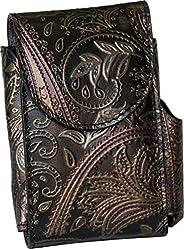 Portasigarette, porta pacchetto sigarette con porta accendino, Vera Pelle - Etabeta Artigiano Toscano - Made i