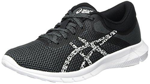 Asics Women's Nitrofuze 2 Running Shoes, Black (Black/Giacier Grey/Carbon), 5.5 UK 39...