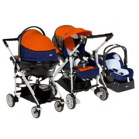 Chicco 05061636630200 - Kinderwagenset Trio For Me Mistral (Chicco Trio)