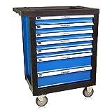 Werkstattwagen, blau