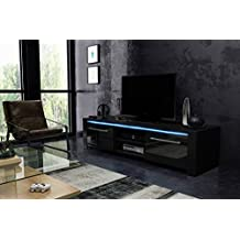 Tv lowboard schwarz matt  Suchergebnis auf Amazon.de für: TV Lowboard, schwarz, Breite 140 cm