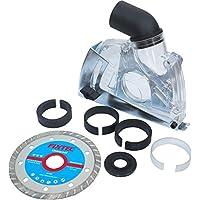 herzo 115/125 mm d'extraction de poussière en plastique Garde de coupe pour meuleuse d'angle