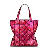Panier 6*6 Women-Bag épaule géométrie à l'intérieur Sac Argent Designer's