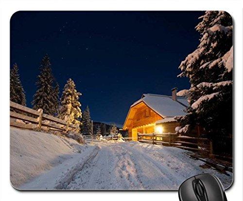 beautiful-winter-abend-kabine-auffahrt-mauspad-mousepad-winter-maus-pad