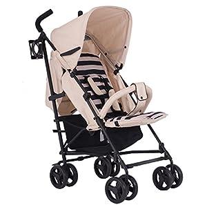 My Babiie Dreamiie Samantha Faiers MB01 Stroller, Sand Stripes   2