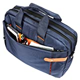 AmazingHind 14-Inch Laptop Messenger Shoulder Bag for Business, Traveling, College and Office Use (14