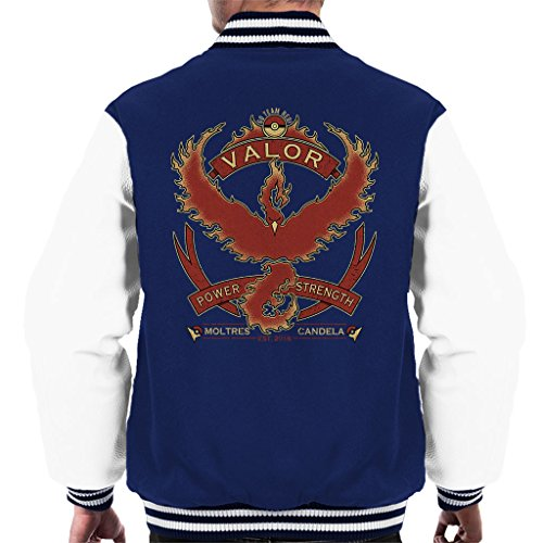 Pokemon Go Team Valor Crest Men's Varsity Jacket