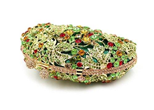 Damen-Abendessen Set Diamant Strass Diamanten Wallets Bridesmaid Taschen Bankett Taschen color 1
