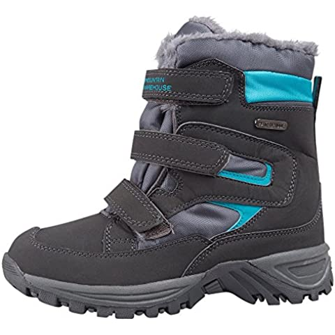 Mountain Warehouse Botas de invierno impermeables Chill para niños