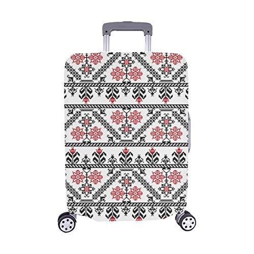Design inspiriert von rumänischem Spandex-Staubschutz Trolley Protector case-Koffer Reisegepäck-Schutzkoffer-Abdeckung 28,5 X 20,5 Zoll