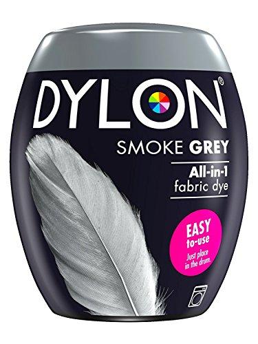 Tinte para ropa Dylon, a máquina, 350 g, color gris, 3 unidades, gris