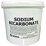 SODIUM BICARBONATE of Soda | 10KG BUCKET | 100% BP/Food Grade | Bath, Baking, Cleaning by Hexeal Chemicals