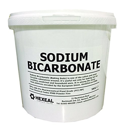 SODIUM BICARBONATE of Soda | 10KG BUCKET | 100% BP/Food Grade | Bath, Baking, Cleaning