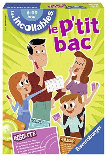 Ravensburger - 26567 - Jeu de Société - Le P'Tit Bac des Incollables
