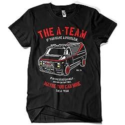 Camisetas La Colmena 4209-Parodia, The A Team L