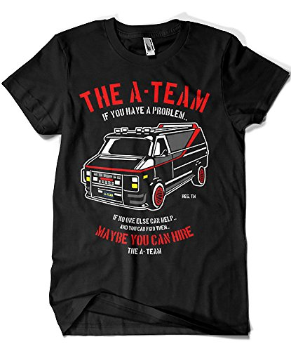 Camisetas La Colmena 4209-Parodia, The A Team XL