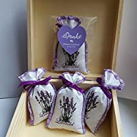 5 Lavendel Lavendelsäckchen Duftsäcckchen Gastgeschenke Schön, dass Du da bist Hochzeit Duftsäckchen Personalisiert