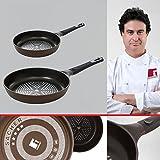 Bergner Sacher: Juego de útiles de cocina: Sartén 20 y Sartén 28 cms.