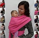 porte bébé ECHARPE DE PORTAGE neuve -- rose FUCHSIA -- idée cadeau naissance