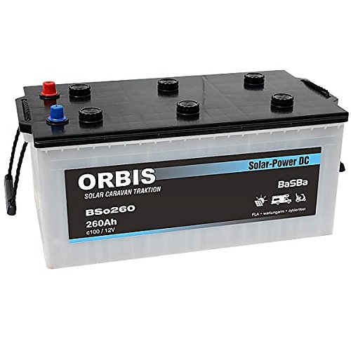 Versorgungsbatterie Solarbatterie BSo-260 12 Volt 260 Ah c100
