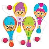 Baker Ross Paletas de Hairy Heads para Niños - Perfectas para Bolsas Sorpresa o como Regalo para Niños (Pack de 6).
