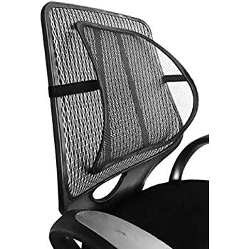 Mesh Lumbar Back Support for Office Chair Car Seat etc Amazonco