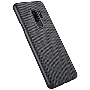 Nillkin Heat Dissipation Hard PC Matte Air Case Back Cover for Samsung Galaxy S9 Plus - Black