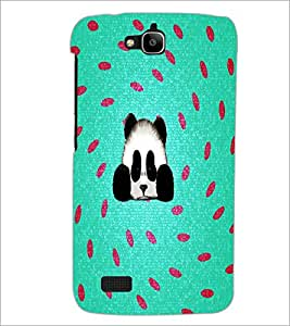 PrintDhaba Panda D-4360 Back Case Cover for HUAWEI HONOR HOLLY (Multi-Coloured)