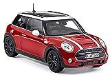 Mini Genuine Cooper S 3porta in miniatura auto giocattolo scala 1: 18Blazing Red 80432413799