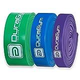DuraGym® Premium Fitness-Band für CrossFit, Calisthenics, Klimmzug-Training und mobiles Workout - Funktionales Krafttraining, Toning und Fettverbrennung!