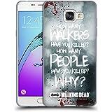 Officiel AMC The Walking Dead Rick Questions Citations Étui Coque en Gel molle pour Samsung Galaxy A5 (2016)