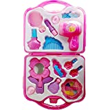 Girl Makeup Toy, Mirror Hairdryer And Styling Accessories, Pretend To Play Kids