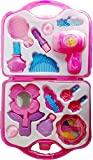 #3: Girl Makeup Toy, Mirror Hairdryer and Styling Accessories, Pretend to Play Kids