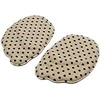 sourcingmap® 1 Paar Khaki Schwarz Schwamm 3D weich Vorfuß Stütze Fuß Mittelfuß Einlegesohle preisvergleich bei billige-tabletten.eu
