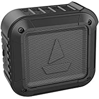 boAt Stone 200A with Alexa Built-in, Loud Sound, Compact Body, IPX6 Water Proof and Shock Proof Portable Smart Speakers (Black)