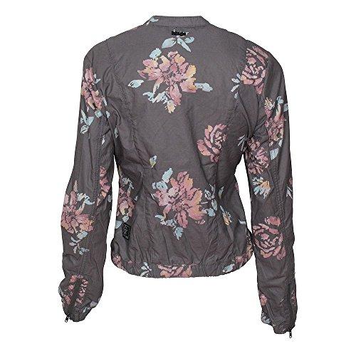 Khujo Orianna Embroidery Jacket, Blouson Femme Painted Black Flower