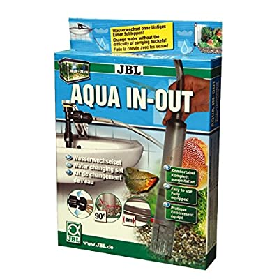 Wasserwechselset für Aquarien zum Anschluss an den Wasserhahn