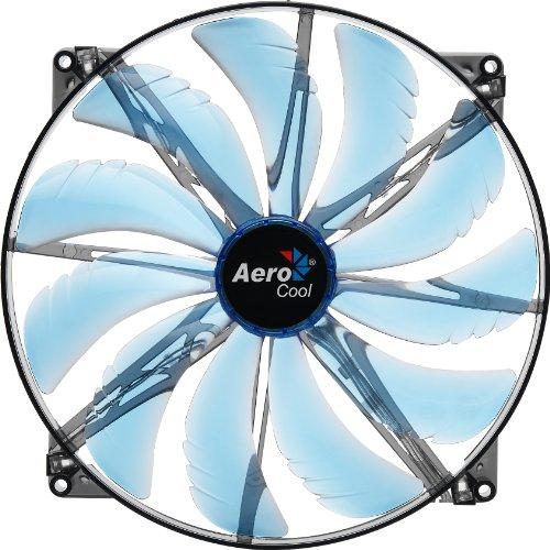 aerocool-silentmaster-led-ventilateur-pc-200-mm-bleu