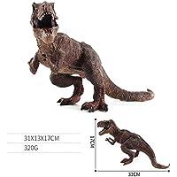 XuBa - Figuras de Dinosaurio de Alta simulación de plástico para decoración de cumpleaños, Navidad, Regalo para niños