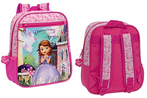 51pwUkAvD3L - Mochila infantil escolar motivo PRINCESA SOFÍA 23 x 28 x 10cm(S)-Disney-4032151