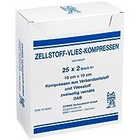 ZELLSTOFF VLIES KOMPRESSEN 10x10 cm steril 50 St Kompressen preisvergleich bei billige-tabletten.eu