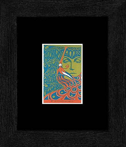 Yardbirds die Türen–Fillmore Auditorium Juli 1967gerahmtes Mini Poster–20x 18cm