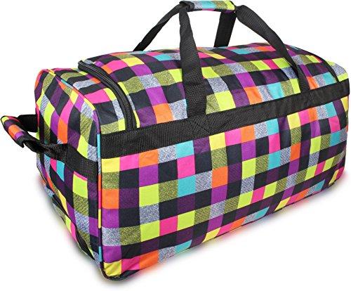 normani Reisetasche Trolley Big Size Reisetrolley XL Tasche NEU Verschiedene Größen Farbe Neon