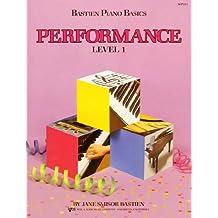 Bastien Piano Basics Performance Level 1 Pf