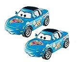 "Mattel DKV58 - Lot de 2""Cars Dinoco Mia et Tia"