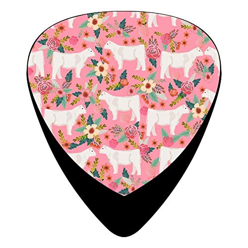 e Florals Farm Celluloid Electric Guitar Picks 12-pack Plectrums For Bass Music Tool ()