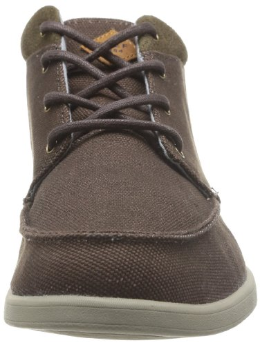 Reef Reef Voyager Mid, Baskets mode homme Marron (Brown)