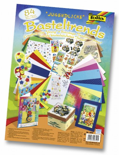 Folia 943 - Juego Infantil para Crear Dibujos y Postales (84 Piezas)