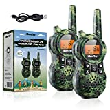 Best Walkie Talkies For Kids - iBaseToy Rechargeable Walkie Talkies for Kids, 22 Channels Review